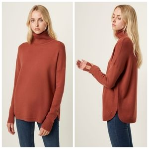 French Connection turtleneck Ribbed Jumper